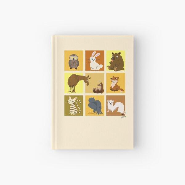 Animal blocks Hardcover Journal
