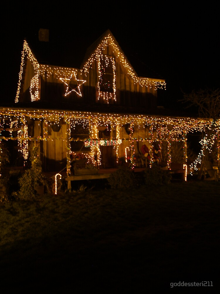 """Christmas time at """"The Wood House"""" by goddessteri211"""
