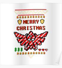 Hyrule Christmas Poster