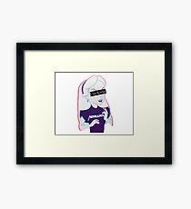 METALLICA - hipster Framed Print