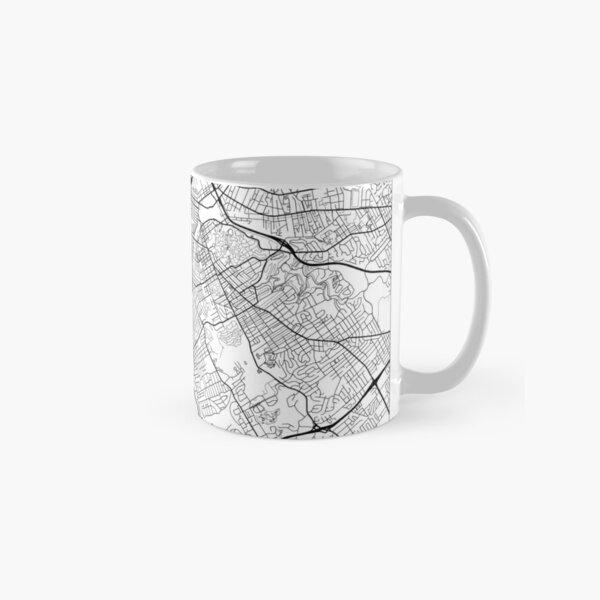 Louisville Map Minimal Classic Mug