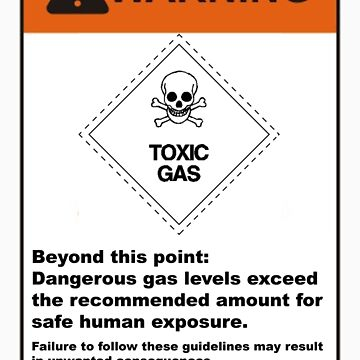 toxic gas by cpuman