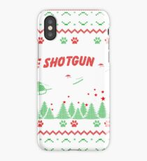 Pit Bull Christmas Gifts My Pit Bulls Ride Shotgun Cool Pit Bull Gifts iPhone Case/Skin