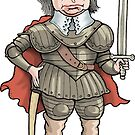Oliver Cromwell by MacKaycartoons