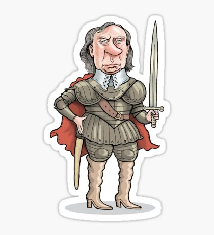 Oliver Cromwell Sticker