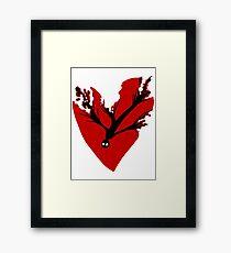Lost Heart Framed Print