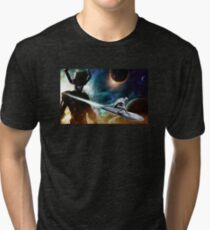 silver surfer glalactus  Tri-blend T-Shirt