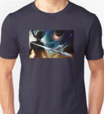 silver surfer glalactus  T-Shirt