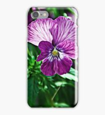 Dynamic Pansy iPhone Case/Skin