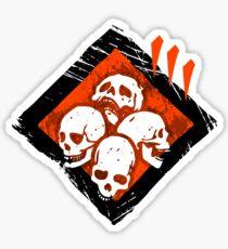 Dead By Daylight | Thanatophobia | Dark Sticker