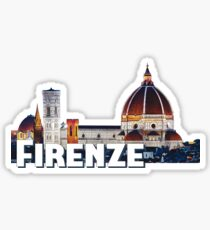 Firenze Italia Florence Italy Sticker