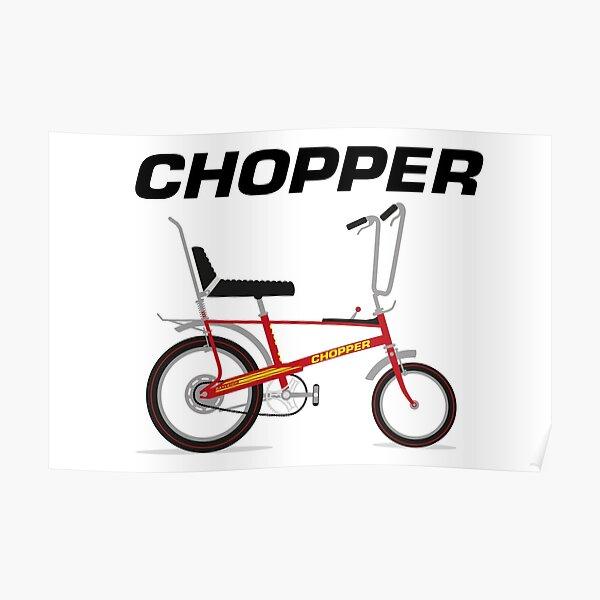 Raleigh Chopper Poster