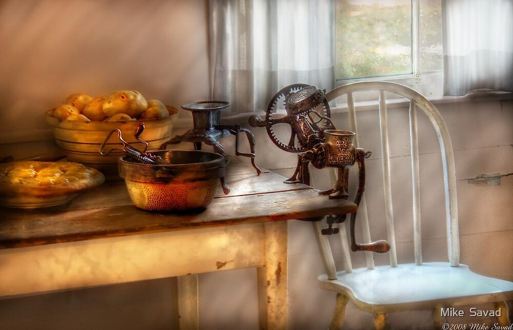 Kitchen Preperations by Michael Savad