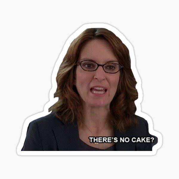 Liz Lemon Cake Sticker