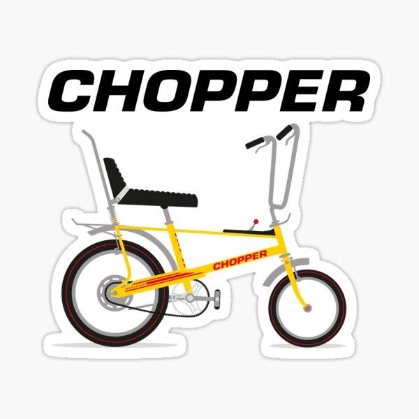 Chopper Bike Sticker