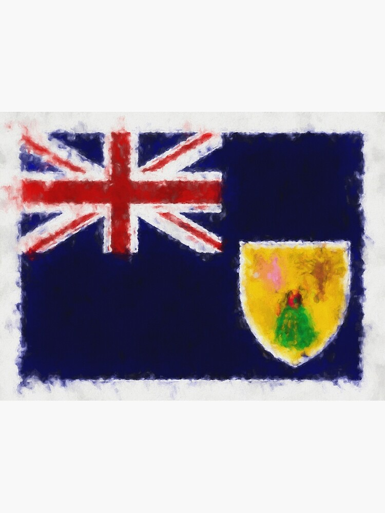 Turks And Caicos Islands Flag Reworked No. 66, Series 5 by 8th-and-f