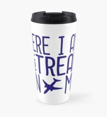 HERE I AM DON'T TREAD ON ME Travel Mug