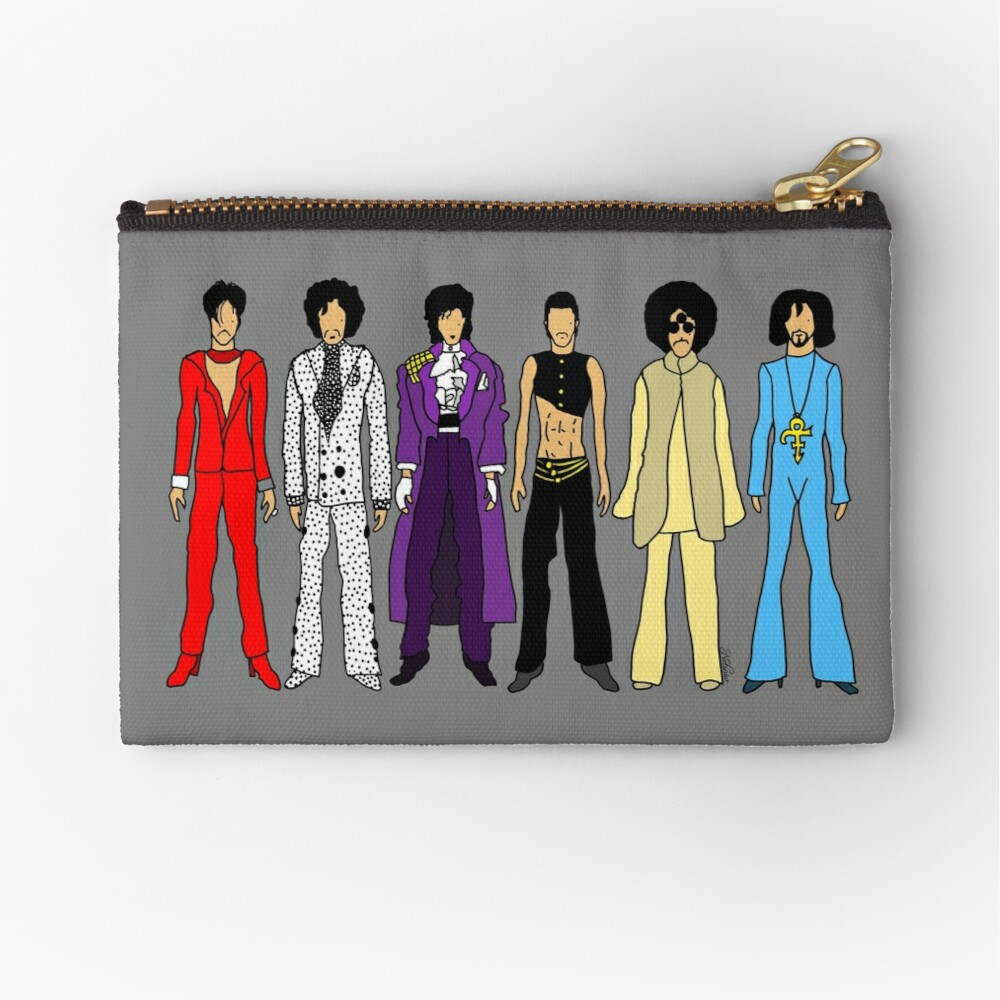 Prince and Princesses Zipper Pouch