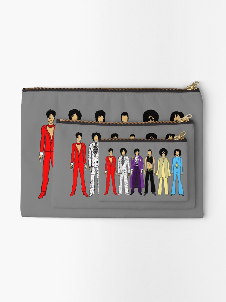 Alternate view of Prince and Princesses Zipper Pouch