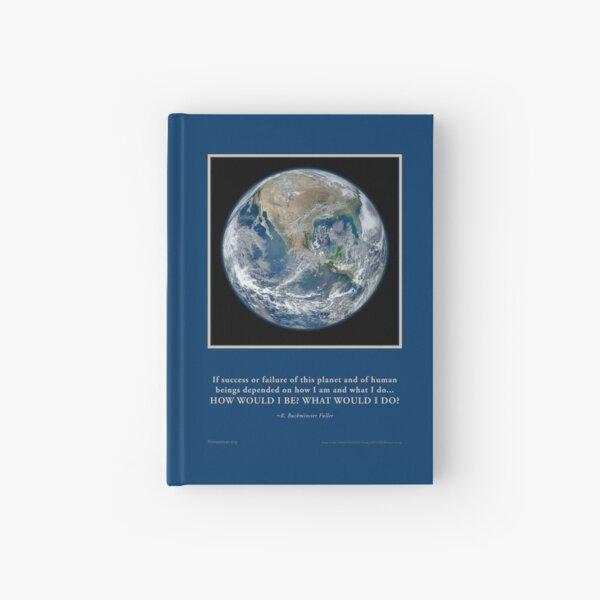 What Would I Do? R. Buckminster Fuller quote Novasutras Hardcover Journal
