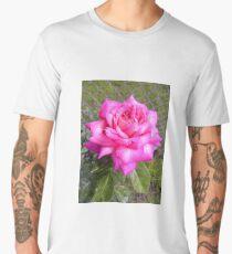 Delicate Pink Rose Men's Premium T-Shirt