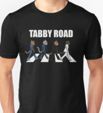 Tabby Road Cats for a Cool Cat Unisex T-Shirt