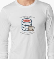 Delete database Long Sleeve T-Shirt