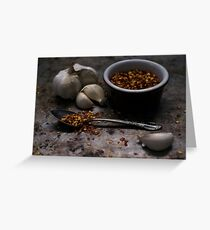 Kitchen Spice Greeting Card