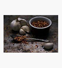 Kitchen Spice Photographic Print