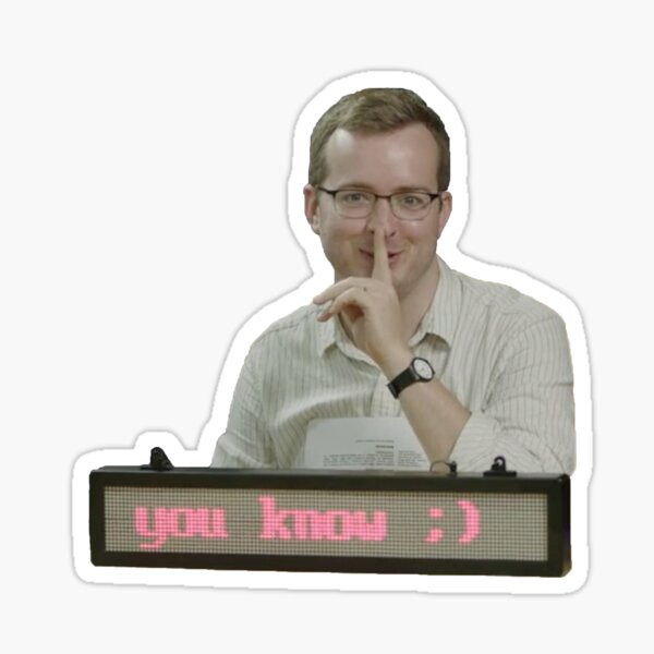 mbmbam - you know ;)  Sticker