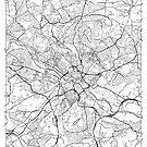 Leeds Map Minimal by HubertRoguski