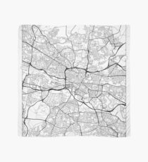 Glasgow Map Minimal Scarf