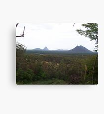 Glasshouse Mountains Canvas Print
