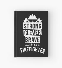 FIREFIGHTER FAMILY GIFTS Hardcover Journal