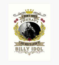 billy idol one love Art Print