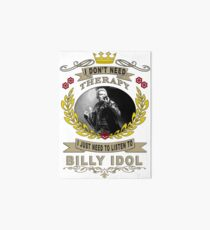 billy idol one love Art Board