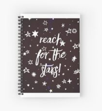 Reach For The Stars #2 Spiral Notebook