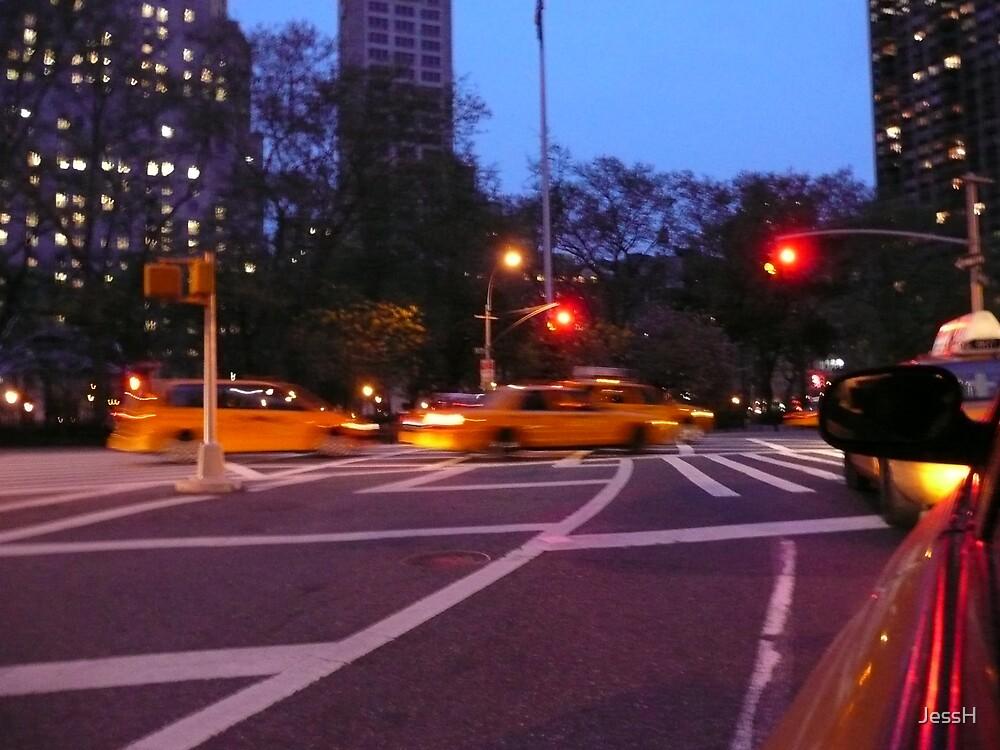 New York City Cabs by JessH