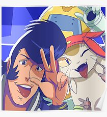 Space Dandy and Crew 2017 Poster