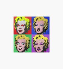 MARILYN MONROE PCM ANDY WARHOL POP ART PARODY Art Board