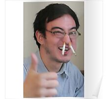 filthy frank thumbs up cigarettte posters by