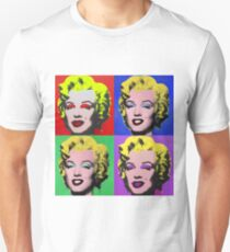 MARILYN MONROE PCM ANDY WARHOL POP ART PARODY Unisex T-Shirt