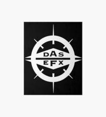DAS EFX white logo Art Board