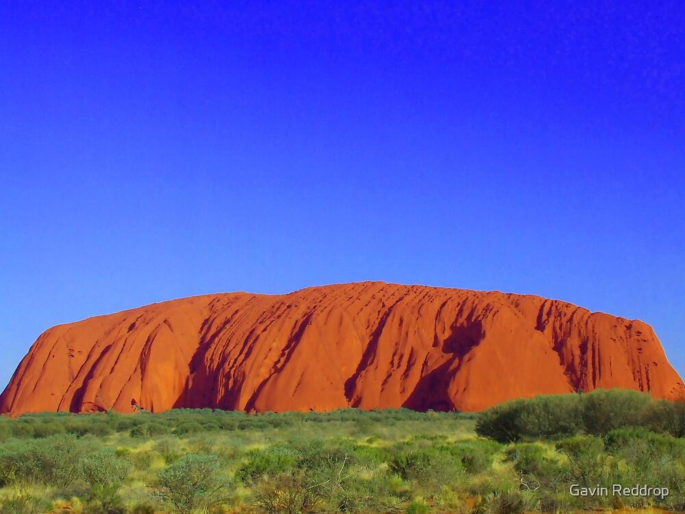 Uluru by Gavin Reddrop