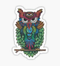 Cosmic Owl Sticker
