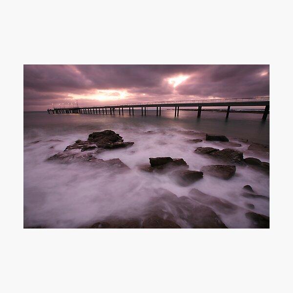 Lorne Pier Dawn, Australia Photographic Print