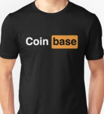 Coinbase Naughty Logo Unisex T-Shirt