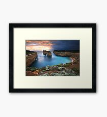 Island Arch, Great Ocean Road, Australia Framed Print