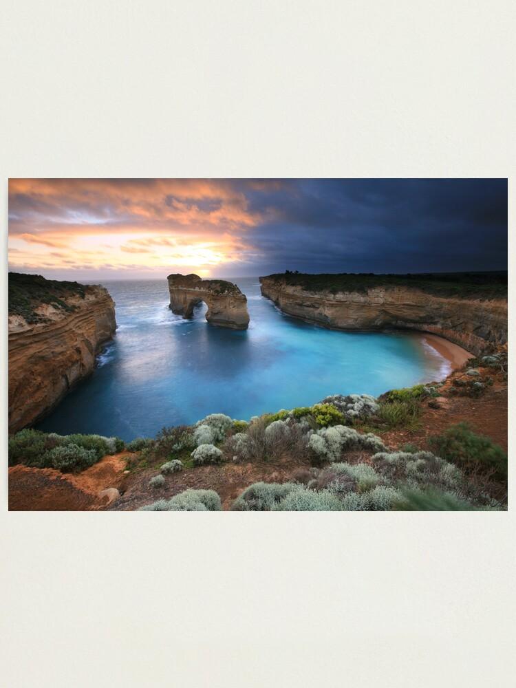 Alternate view of Island Arch, Great Ocean Road, Australia Photographic Print