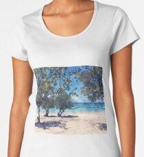 Loving The Beach Women's Premium T-Shirt